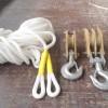 绝缘滑轮组 电缆放线滑车 绝缘滑车 尼龙绳 钢管梯车